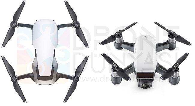 DJI Mavic Air Drone ve DJI Spark Drone Karşılaştırılması