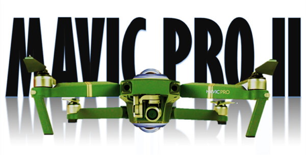 DJI Mavic Pro Plantinum 2 Drone Hakkında Söylentiler !