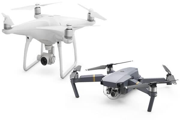 DJI Phantom 4 Drone Ve DJI Mavic Drone Karşılaştırılması
