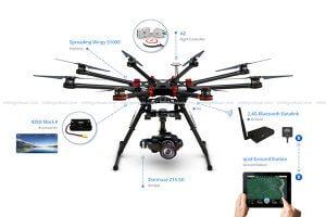 DJI S1000 Ve S900 Drone Tamiri