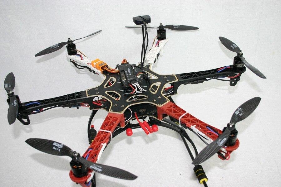 Drone Nasıl Toplanır ? DJI F550 APM 2.6 Dronun Toplaması