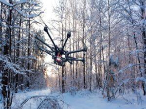 Kış Aylarında Drone Uçurmak