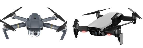 DJI Mavic Pro Drone Ve DJI Mavic Air Dronun Karşılaştırması
