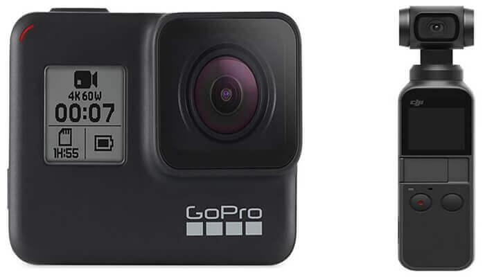 DJI Osmo Pocket Ve GoPro Hero 7 Black Karşılaştırması